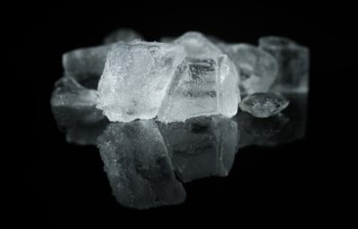 The effectiveness of ice for acute swelling and what are the alternatives?